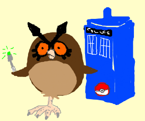 Dr. WhootWhoot( Dr. who/pokemon crossover)