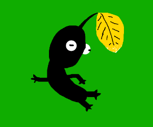 Black Pikmin did not survive natural selection