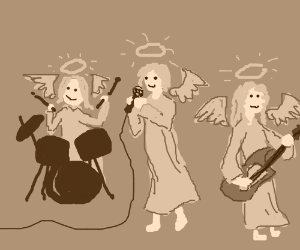 Angels in a band