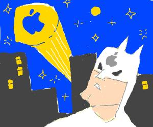 Batman Sponsored By Apple