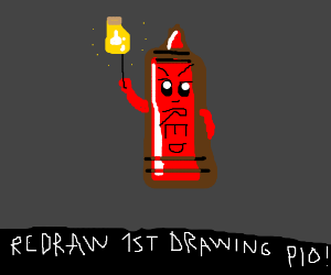 Redraw your very first drawing, PIO