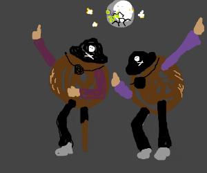 Pirate-coconuts disco