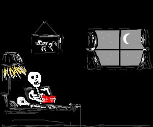 skeleton bedtime story