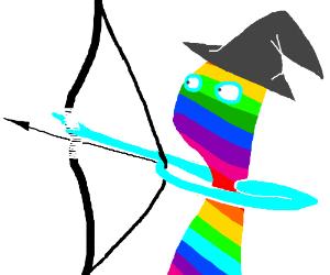 rainbow archer magician