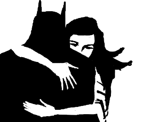 Sad Batman and Talia al Ghul