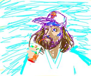 Jesus Christ; King of the Juice