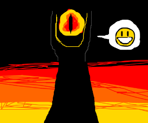 Eye of Sauron is happy to see you