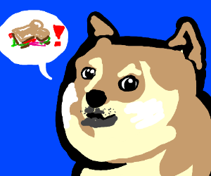DOGE ORDERS YOU TO EAT THE SANDWICH