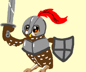 Owl Knight to the rescue!