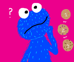 Will you choose cookie 1, 2 or 3?