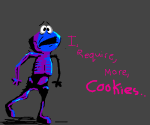 Anorexic Cookie Monster