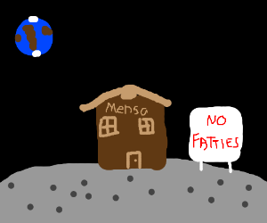 Mensa's moon HQ is fickle about guests