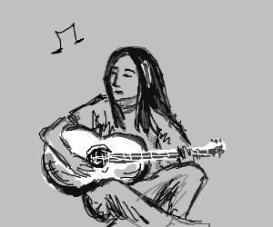 Soulful folk singer.
