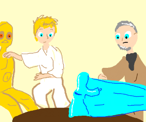 Help me Obi Wan Kenobi, you're my only hope!