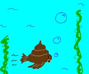 The underwater turd fish.