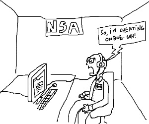 Giving the NSA a taste of their own medicine