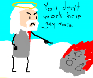 god fires a sleepy meteor