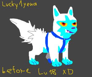 Lucky1yena (arctic poochyena)'s early years