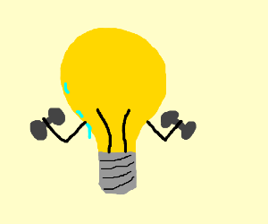Lightbulb is working out