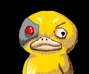 Psyborgduck (Pokemon) Begins!