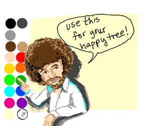 The Joy of Drawception, with Bob Ross