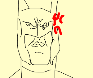 Batman's gonna be pissed.