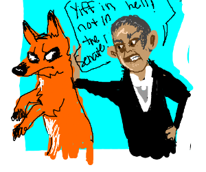 Fox furry is kicked out of senate by Obama.
