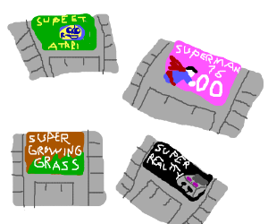 Super Nintendo Rejects
