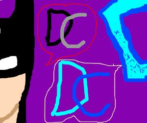 DC means Drawception. Not Detective Comics.