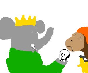 Babar: Alas, poor Yorick! I knew him, Zephir.