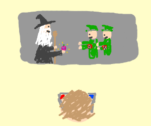 Gandalf apeases Nazis with magic berry (IN 3D)
