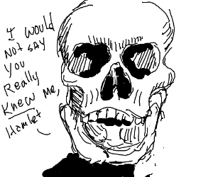yoricks skull essay