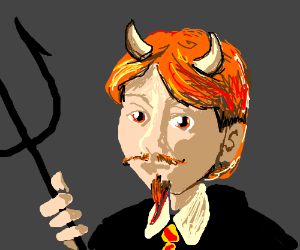 """Ron """"Diabolo"""" Weasley"""