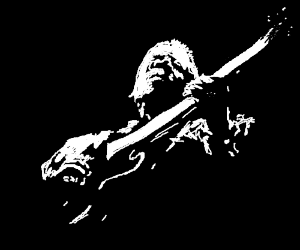 bob marley plsying guitar