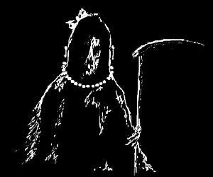 Death crossdresses.