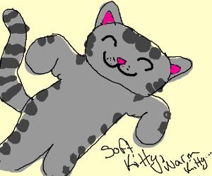 Soft Kitty, Warm Kitty, little ball of fur