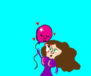 Balloon loves HUGE pimple