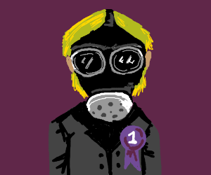 Creepy Gas Mask Kid from Doctor Who is #1