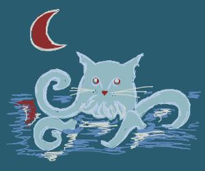 a cat Kraken