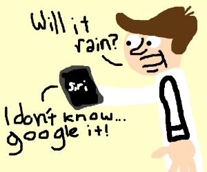 Siri being unhelpful