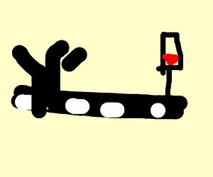 ymca stops for red light
