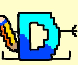 8-bit drawception