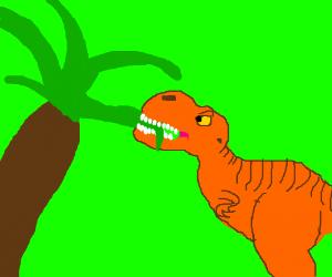 Vegetarian tyrannosaur