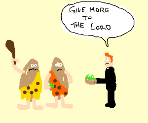 Cavemen need to give more.