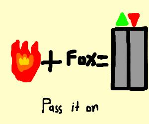 Fire plus Fox equals Elevator PIO
