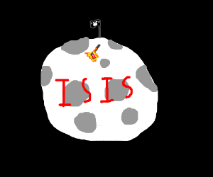 Isis conquers the moon. Its all over now.
