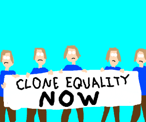 Clone equality rally