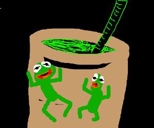 """Slurp a frog stick, it's delicious!"""