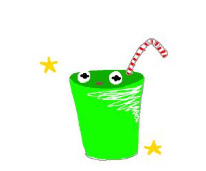 Enjoy a fresh Kermit Shake!