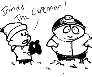 Cartman replaces Calvin from 'Calvin & Hobbes'